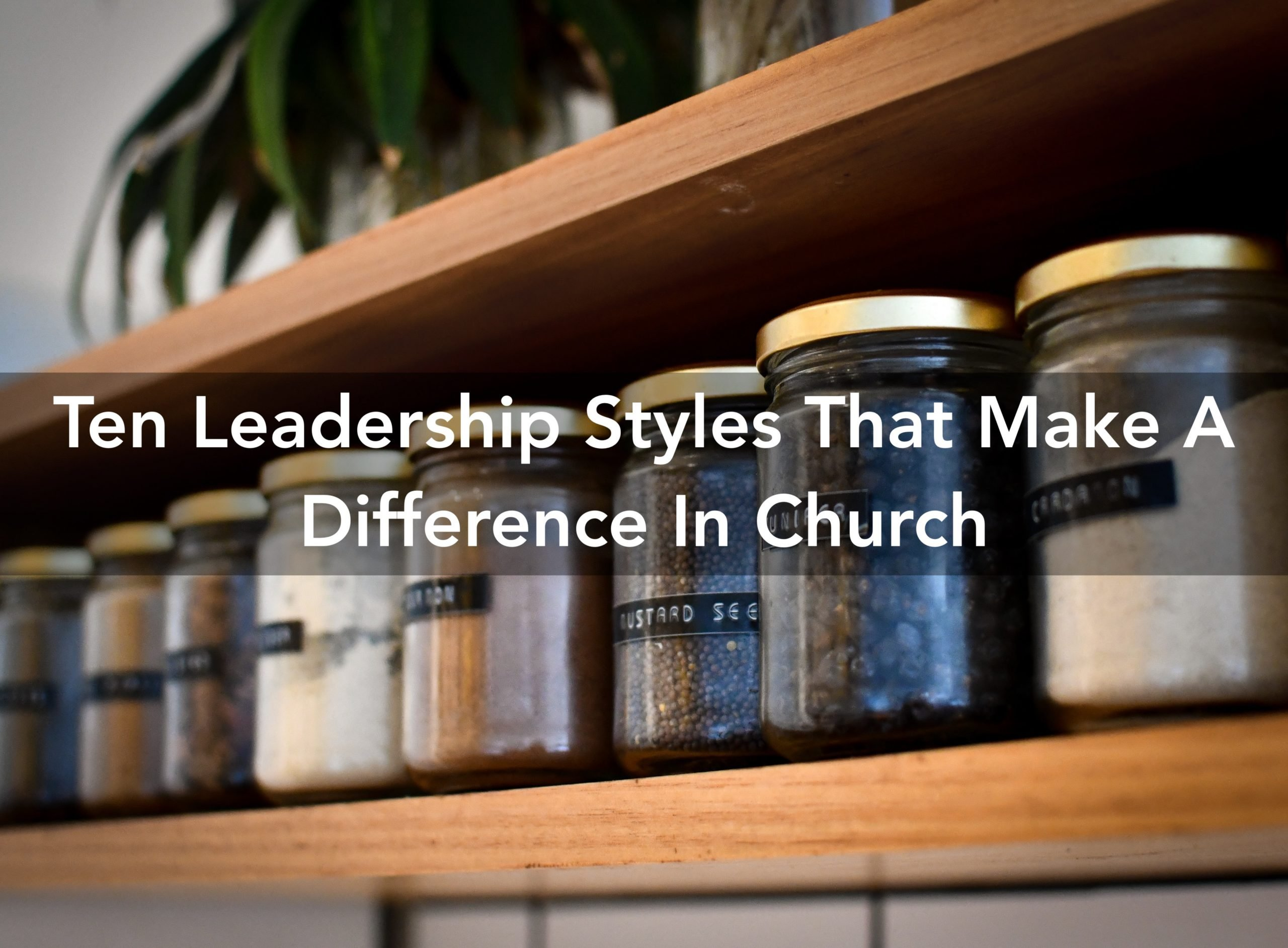 leadership styles in church